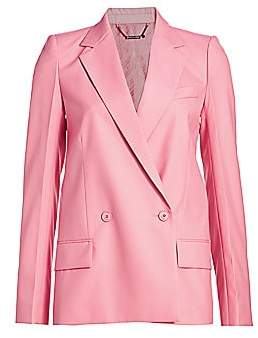 Givenchy Women's Structured Double Breasted Jacket