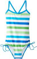 Kanu Surf Little Girls' Sassy One Piece Swimsuit
