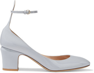 Valentino Tango Patent-leather Mary Jane Pumps