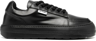 Sunnei Leather Trainers