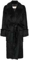 Alexandre Vauthier faux fur belted coat
