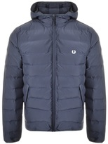 Fred Perry Brentham Hooded Jacket Navy