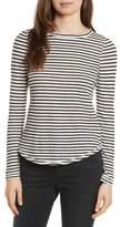 Rebecca Taylor Long Sleeve Stripe Tee