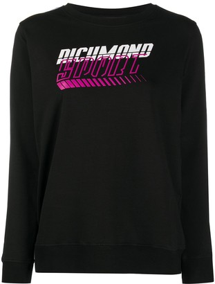 John Richmond Logo-Print Sweatshirt