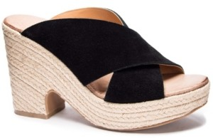 Chinese Laundry Quay Wedge Mules Women's Shoes