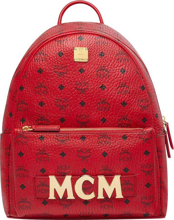 20329e8d1 MCM Red Women's Backpacks - ShopStyle