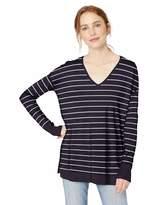 Amazon Brand - Daily Ritual Women's Lightweight V-Neck Tunic Pullover Sweater