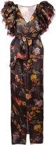 Rosie Assoulin floral print gown - women - Silk - 6