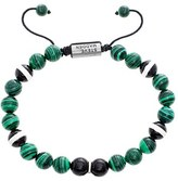 Steve Madden Men's Malachite Bread Bracelet