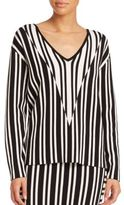 Tanya Taylor Johnny Striped Sweater