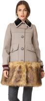 No.21 No. 21 Check Coat
