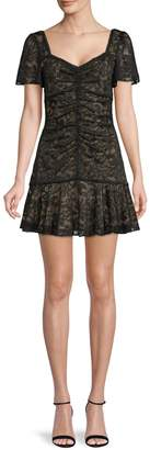 ASTR the Label So Smitten Lace Mini Dress