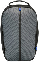 Emporio Armani logo print backpack - men - PVC/Polyester/Polyurethane/Leather - One Size