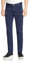 BOSS Delaware Twill Slim Fit Jeans in Navy
