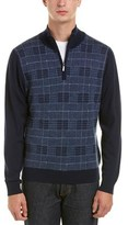 Brooks Brothers 1/4-zip Wool Pullover.