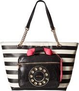 Betsey Johnson Hold Please Phone Tote Tote Handbags