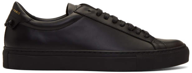 Givenchy Black Urban Street Sneakers