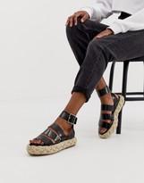 Asos Design DESIGN Jao chunky espadrille sandals