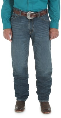 Wrangler Men's 20X Cool Vantage Competition Relaxed Fit Storm Blue Jean