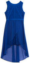 Rare Editions Lace Dress, Big Girls (7-16)