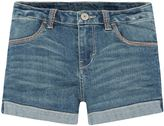 Levi's Girls 7-16 Thick Stitch Shortie Shorts