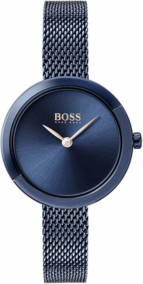 HUGO BOSS Women's Analogue Quartz Watch with Stainless Steel Strap 1502497