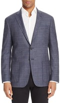 Todd Snyder Navy Gray Plaid Slim Fit Sport Coat