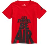 Nike Toddler Boy's Let There Be Air T-Shirt