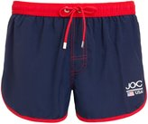 Jockey USA Originals Athletic Men's Swim Shorts, Navy with red trim