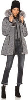 Nicole Benisti Telluride Jacket with Asiatic Silver Fox and Asiatic Rabbit Fur