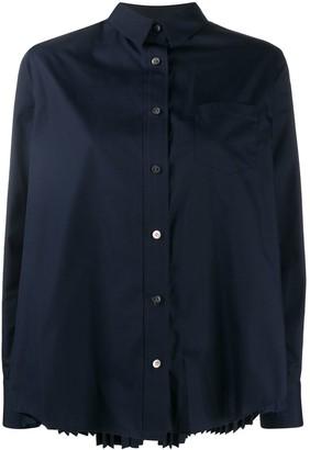 Sacai Back-Pleated Shirt