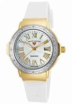 Swiss Legend Women's 'South Beach' Swiss Quartz Stainless Steel Casual Watch (Model: 20032DSM-YG-02-SB-WHT)