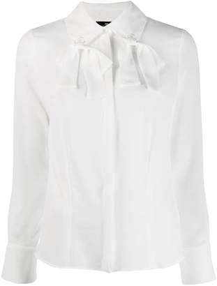 Elisabetta Franchi tie collar blouse