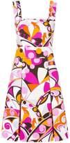 Emilio Pucci printed apron dress