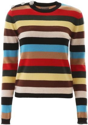 Ganni Striped Pullover