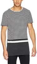New Look Men's Blocked Stripe T-Shirt