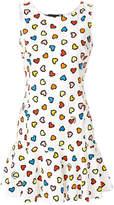 Love Moschino heart print jersey dress