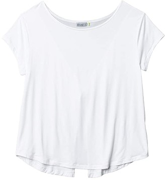 tasc Performance Athena Top (White) Women's Clothing