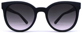 Quay Like Wow Sunglasses in Black/Smoke