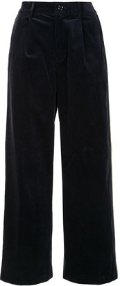 Coohem High-Waisted Corduroy Trousers