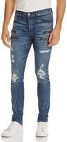 Hudson Broderick Super Slim Fit Jeans in Hayday 2