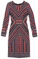 Vince Camuto Graphic-print Dress