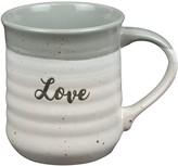 Enchante Gray Reactive Glaze Love Mug