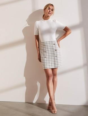Ever New Jackson Boucle Mini Skirt