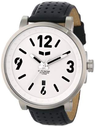 Vestal Men's DPL006 Doppler Slim Black Silver White Watch