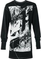 11 By Boris Bidjan Saberi long sleeve T-shirt
