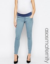 Asos Sculpt Me Premium Jean in Heather Wash