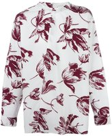 Marni floral collarless shirt - men - Cotton - 50