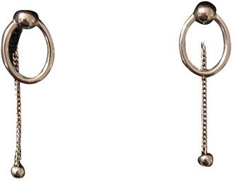 Burberry Silver Steel Earrings