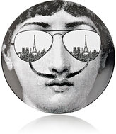 "Fornasetti Face With Sunglasses And Mustache"" Plate"